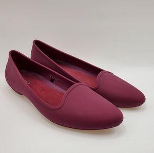 Crocs Purple Eve Ballet Pointy Toe Flats Size 7